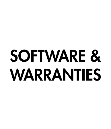 Picture for category Software & Warranties