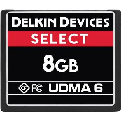 Picture of Delkin Devices 8GB Select UDMA 6 CompactFlash Memory Card