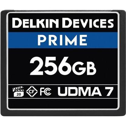Picture of Delkin Devices 256GB Prime UDMA 7 CompactFlash Memory Card
