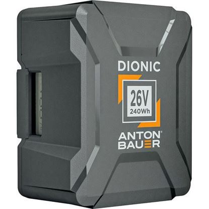 Picture of Anton Bauer Dionic 240Wh 26V Gold Mount Plus Battery