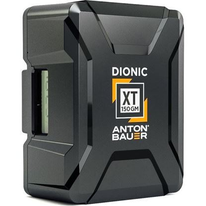 Picture of Anton Bauer Dionic XT 150Wh Gold-Mount Lithium-Ion Battery